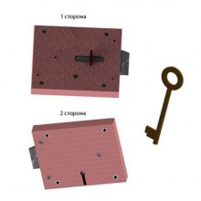 Герион ЗПУ-РУ левый для электроподстанций Замок накладной (20)