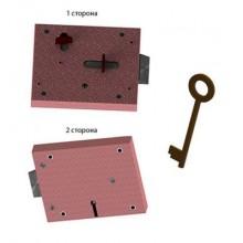 Герион ЗПУ-ТП-РУ левый для электроподстанций Замок накладной (20)