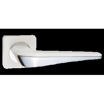 RENZ DH 425-02 W/CP Фиоре белый/хром блест. Комплект ручек (20)