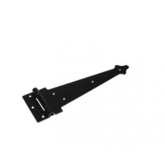 Домарт ПС-300 фигурная мод.3 (черная) Петля-стрела (10)