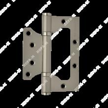 Нора-М 800-4 FHP SC без врезки 2 подш мат.хром 100*75*2,5 Петля дверная 2 шт (100,10)