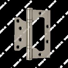 Нора-М 800-4 FHP CP без врезки 2 подш хром 100*75*2,5 Петля дверная 2 шт (100,10)
