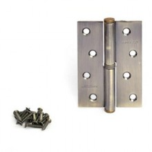 Апекс 100*70-B-Steel-AB-L левая бронза Петля дверная 2 шт (50;5;1!!!)