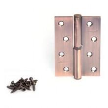 Апекс 100*70-B-Steel-АС-L левая медь Петля дверная 2 шт (50;5;1!!!)