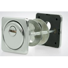 Броненакладка для ц/м Крит БнЦ-К26 - Хп  хром полир. арт.05245 (50)