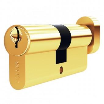 Soller FV5 70мм золото кл/верт. 5кл. латунь/металл Механизм цилиндровый (120,12)
