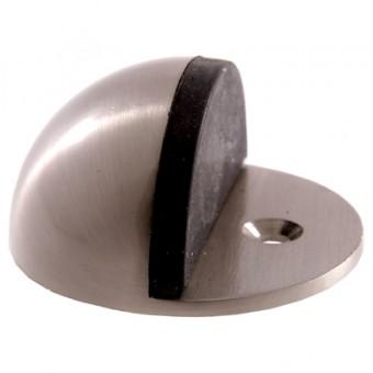 АЛЛЮР G-7018-SN кругл. мат.никель ограничитель дверной ЕВРОПАКЕТ (300)