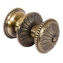 АЛЛЮР В-107 Люкс старая бронза Ручка-кнопка (60,18)