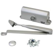 DORMA Доводчик дверной TS 77 EN 2 до 50 кг. c рычагом серебро(12)