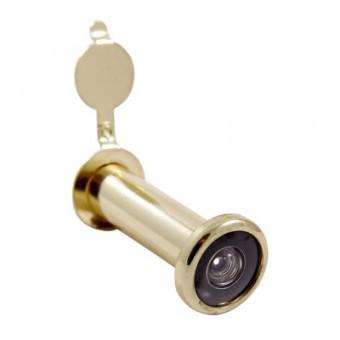 АЛЛЮР ГД-3 БШт 50-75мм d=14мм золото Глазок дверной  (600,12)