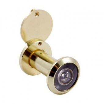 АЛЛЮР ГДШ-2 БШт 35-50мм d=16мм золото Глазок дверной  (300,12)
