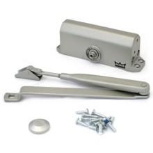 DORMA Доводчик дверной TS 77 EN 3 до 80 кг. c рычагом серебро (12)