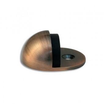 Апекс DS-0002-AС медь ограничитель дверной круглый (300,10)