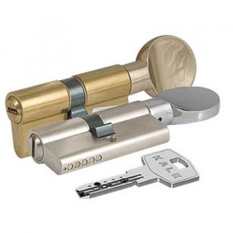 KALE 164 BM/100 40х10х50 никель плоск.верт перф.кл/верт Цилиндровый механизм (12)