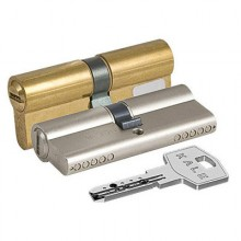 KALE 164 BN/90 40х10х40 никель перф.кл Цилиндровый механизм  (24)