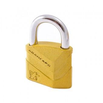 АВАНГАРД ВС2Д-50 ДИСКО желтый d8мм Замок навесной (48,6)