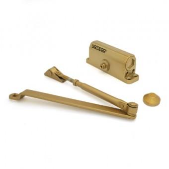 NOTEDO Доводчик дверной  DC-060 GOLD до 60 кг золото (10)