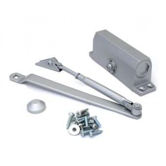 NOTEDO Доводчик дверной  DC-080 SILVER 60-100 кг сереб. (10)