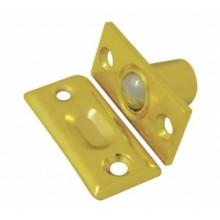 Фиксатор дверной Soller 588В с/шариком золото (600,60)
