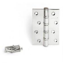 Апекс 100х70-B4-Steel-CR хром 4 подшип. Петля дверная 2 шт (50;5;1!!!)