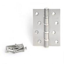 Апекс 100х70-B4-Steel-NIS(S)сатин 4 подшип. Петля дверная 2 шт (50;5;1!!!)