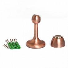Апекс DS-2761-М-AC медь ограничитель дверной магнитный (80,10)