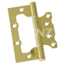 RENZ 100-2BB FH РB без врезки 2 подш лат блест 100*75 Петля дверная 2 шт (50;1!!!)