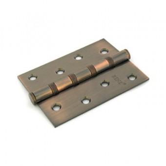 RENZ 100-4BB FH АС 4 подш антик медь 100*75 Петля дверная 2 шт (50,1!!!)