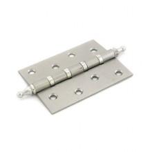 RENZ 100-4BB СH SN 4 подш коронка мат никель 100*75 Петля дверная 2 шт (50;1!!!)