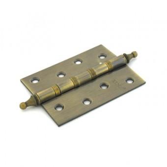 RENZ 100-4BB СH АВ 4 подш коронка антик бронза 100*75 Петля дверная 2 шт (50;1!!!)