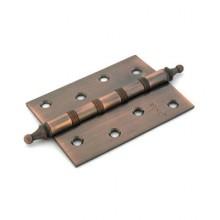 RENZ 100-4BB СH АС 4 подш коронка антик медь 100*75 Петля дверная 2 шт (50,1!!!)