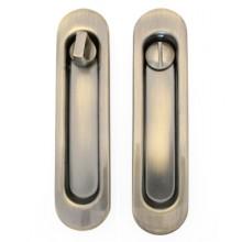 Ручки с замком для раздвижных дверей TIXX бронза ант. SDH-BK 501 AB (50)