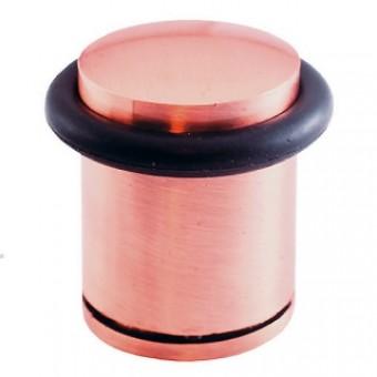 Soller ограничитель дверной М71С медь Н-30мм (600,60)