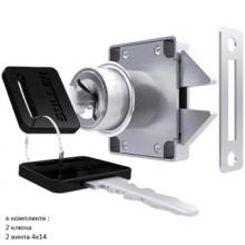 Soller замок мебельный 6202 (118-016) хром для шкафов-купе (240,12!!!)