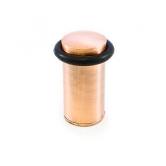 АЛЛЮР 588А-1 ст.медь ограничитель дверной цилиндр (200,20)