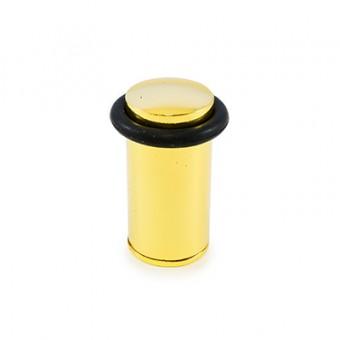 АЛЛЮР 588А-1 GP золото ЕВРОПАКЕТ ограничитель дверной цилиндр (160,20)