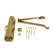 NOTEDO Доводчик дверной  DC-095 легкий характер GOLD  60-120кг золото EN3-EN5 (10)