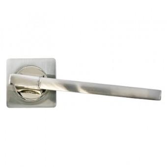 PUERTO AL 524-02 SN/NP мат.никель/бл.никель Комплект ручек (20)