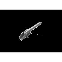 Домарт Упор воротный 200 мм  серый металлик (10)