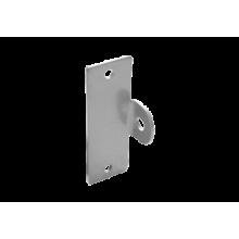 Домарт Проушина гаражная 50*150 (толщ.4мм) (серый металлик) (10)
