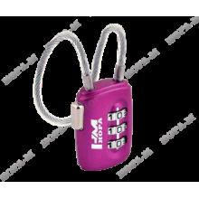 Нора-М 506 фиолетовый Замок навесной кодовый (240,12)