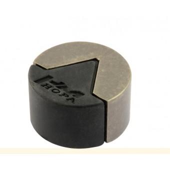 Нора-М 113 хром ограничитель дверной (120,20)