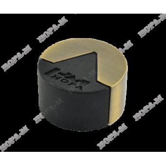 Нора-М 113 ст.бронза ограничитель дверной (120,20)