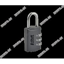 Нора-М 502 серый Замок навесной кодовый (240,12)