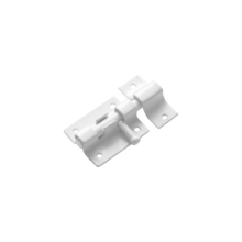 Домарт Шпингалет ШП-40 белый (50)