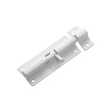 Домарт Шпингалет ШП-80 белый (50)