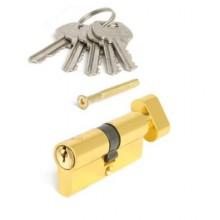 AVERS LL-60-C-G золото англ. кл/верт. 5кл.профиль 28,5мм  Цилиндровый механизм (120)